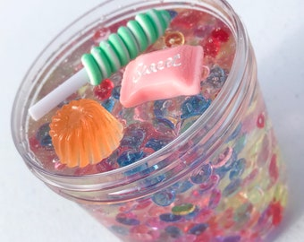 Candy Land Clear Fishbowl Slime