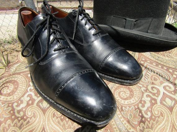 Formal Black Men's Shoes, Men's Black Leather Shoe