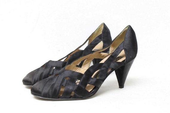 Maud Frizon Silk-Satin Shoes