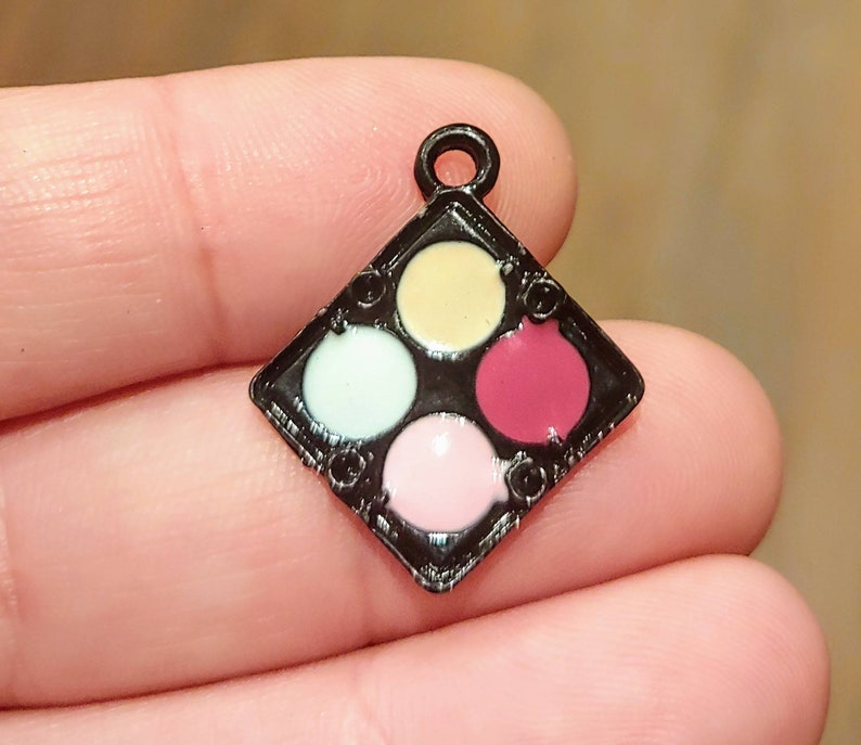 10 Rainbow /& Cloud Silver Plated Enamel Charm//Bracelet//Tag//Bead//Craft//Kids
