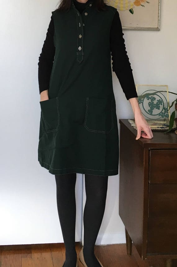 Vintage Green Youth Guild Dress