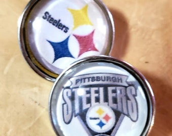80a6f285 NFL Charms -Pittsburgh Steelers Charm -NFL Gingersnaps -Football Jewelry -Snap  Jewelry -Steelers Snap Charms -Steelers Jewelry -Sports Charm