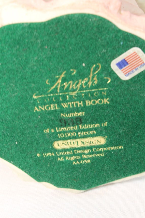 1994 United Design Corp Angels Collection Angel With Etsy