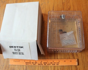 Vintage Bakelite Acrylic Zodiac Thermostat