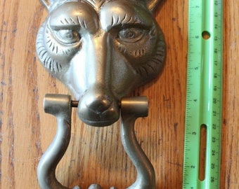 Home Decor Rooster. Owl CLIP ART- Watercolor Vintage Door Knockers Set Fox Digital Download Bunny Dog Brass 11 Images Front doors