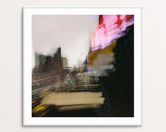 Metro Vista II: Abstract Urban Landscapes - Square - Digital Download Printable Wall Art for Multiple Frame Sizes | Fine Art Photography
