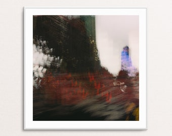 Metro Vista III: Abstract Urban Landscapes - Square - Digital Download Printable Wall Art for Multiple Frame Sizes | Fine Art Photography
