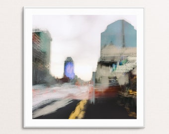 Metro Vista I: Abstract Urban Landscapes - Square - Digital Download Printable Wall Art for Multiple Frame Sizes | Fine Art Photography