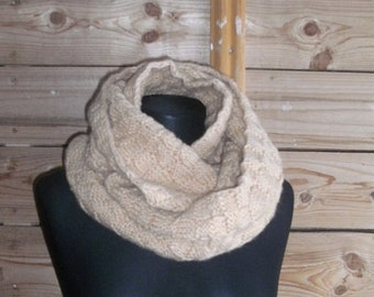 knitted Snood-Snood for women-Snood-knitting-stylish accessory
