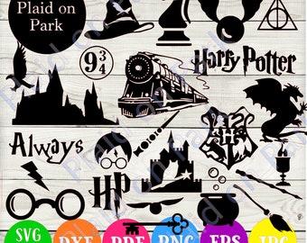 Harry Potter Svg Etsy