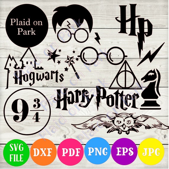 Instant Download Harry Potter Svg Dxf Eps Jpg Png Pdf Etsy