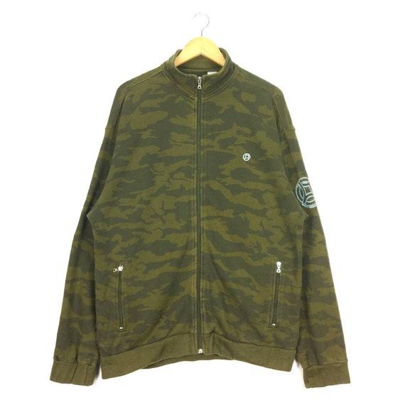Freshjive Camouflage Fullzip Sweatshirt