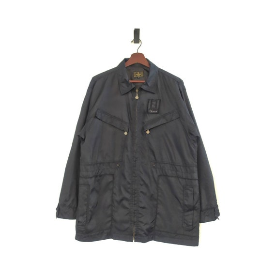 Fendi Jeans Windbreaker Jacket