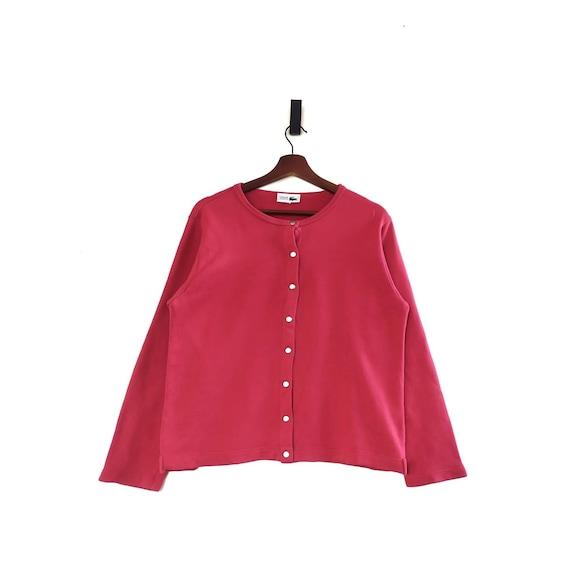 Vintage Chemise Lacoste Snap Button Sweatshirt