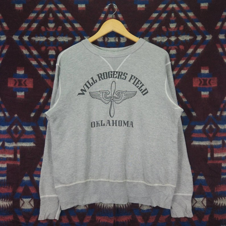 Vintage Buzz Rickson Crewneck Pullover Jumper Sweatshirt