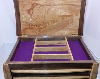 3 Drawer Jewelry Box