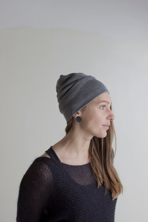 288448f8df6 Cashmere Knitted Beanie Hat