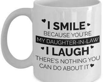 Daughter In Law Coffee Mug