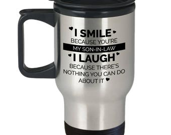 Son In Law Travel Mug