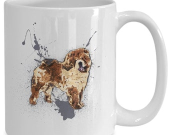 Chow chow puppies coffee mug | dog lover gift | dog mom gift | best dog lover gifts | funny dog coffee mug | dog mom gift idea | best dog