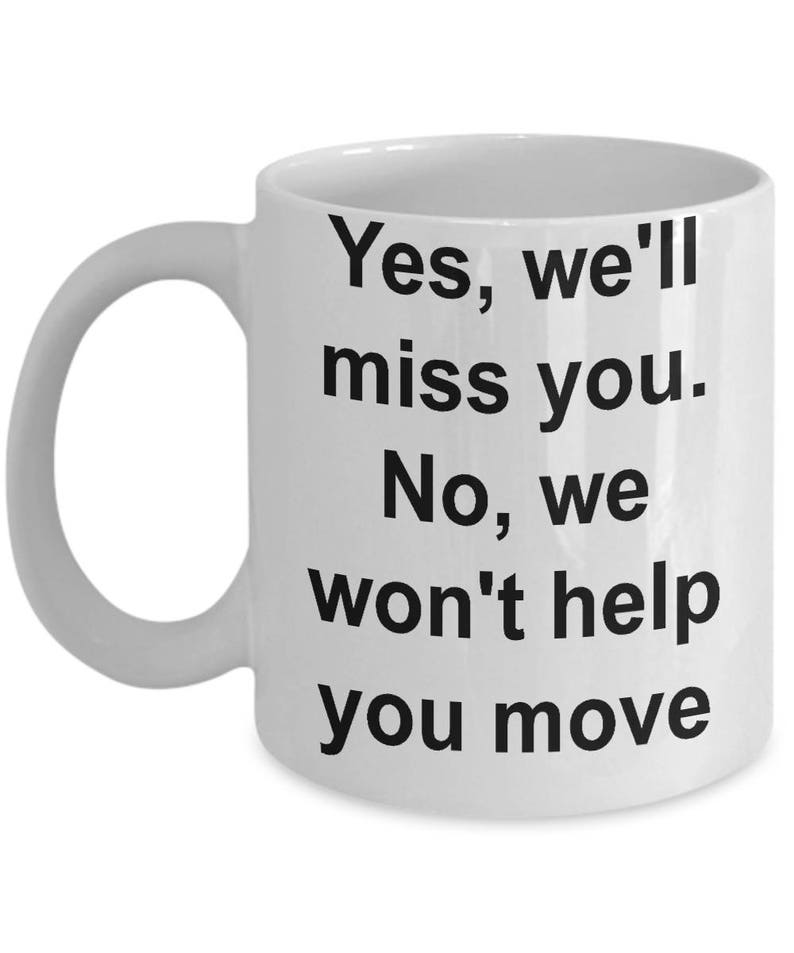 Moving House Coffee Mug I Miss You Gifts Missing You Gifts Etsy