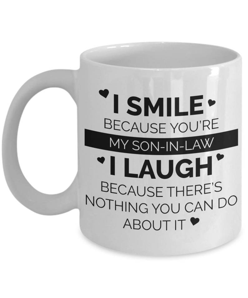 Son In Law Coffee Mug Gifts For Gift Him