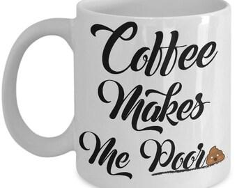 Coffee Lover Coffee Mug | Coffee Sign | Gift For Him | Coffee Lovers Print | But First Coffee | Coffee Lovers | Coffee Lovers Gifts