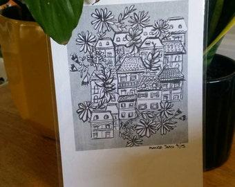 Florist Metropolis - A5 Giclėe Print