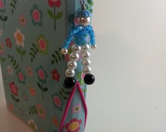 Beaded Doll Charm