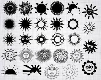 Sun design   Etsy