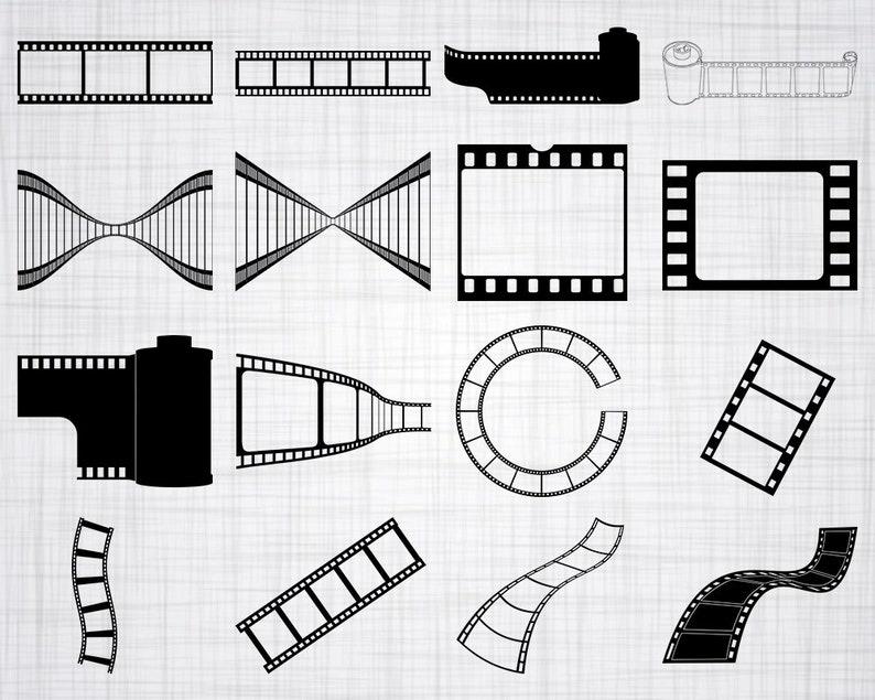 Film Strip Svg Movie Svg Film Svg Film Strip Clipart Film Etsy
