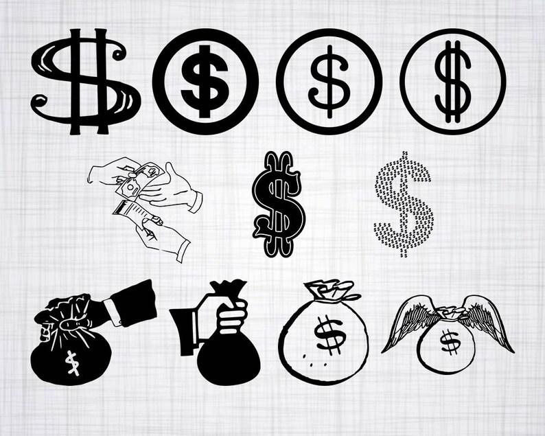 Download Money SVG Bundle Dollar SVG Money Clipart Money Cut Files ...