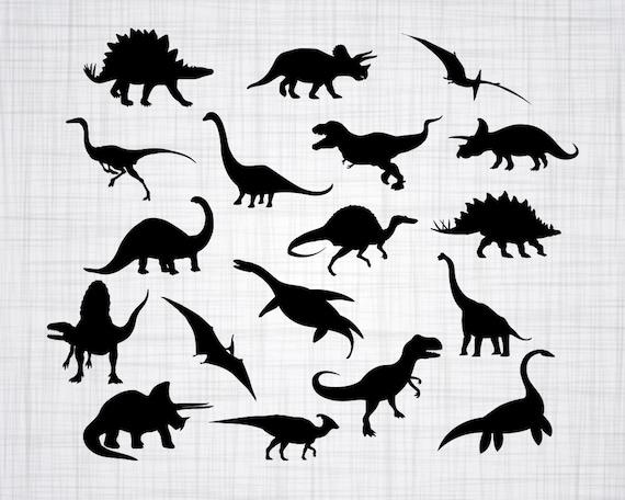 Dinosaur Svg Bundle Dinosaur Svg Dinosaur Clipart Dinosaur Etsy