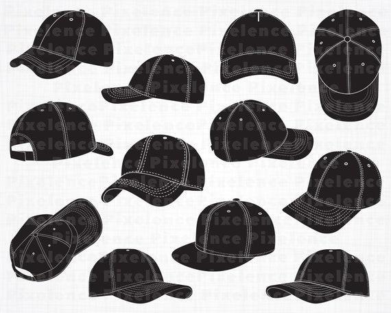 4ef63923d7c Baseball Cap SVG Files 2 Baseball Cap SVG Baseball Cap