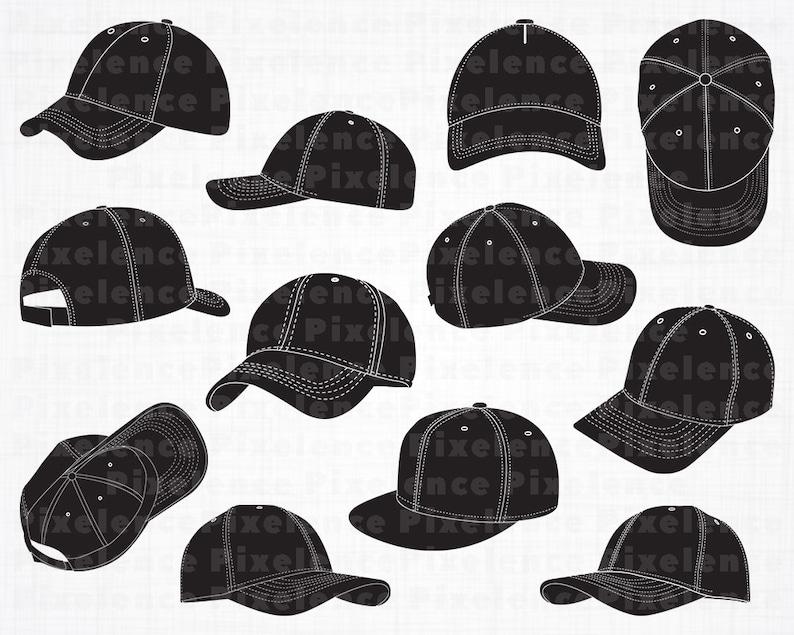 abc1652b464 Baseball Cap SVG Files 2 Baseball Cap SVG Baseball Cap