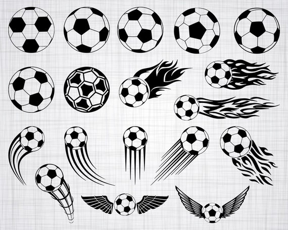 Soccer Ball Svg Bundle Soccer Ball Svg Soccer Ball Clipart
