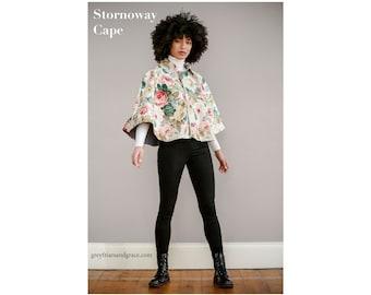 Stornoway Cape Sewing Pattern