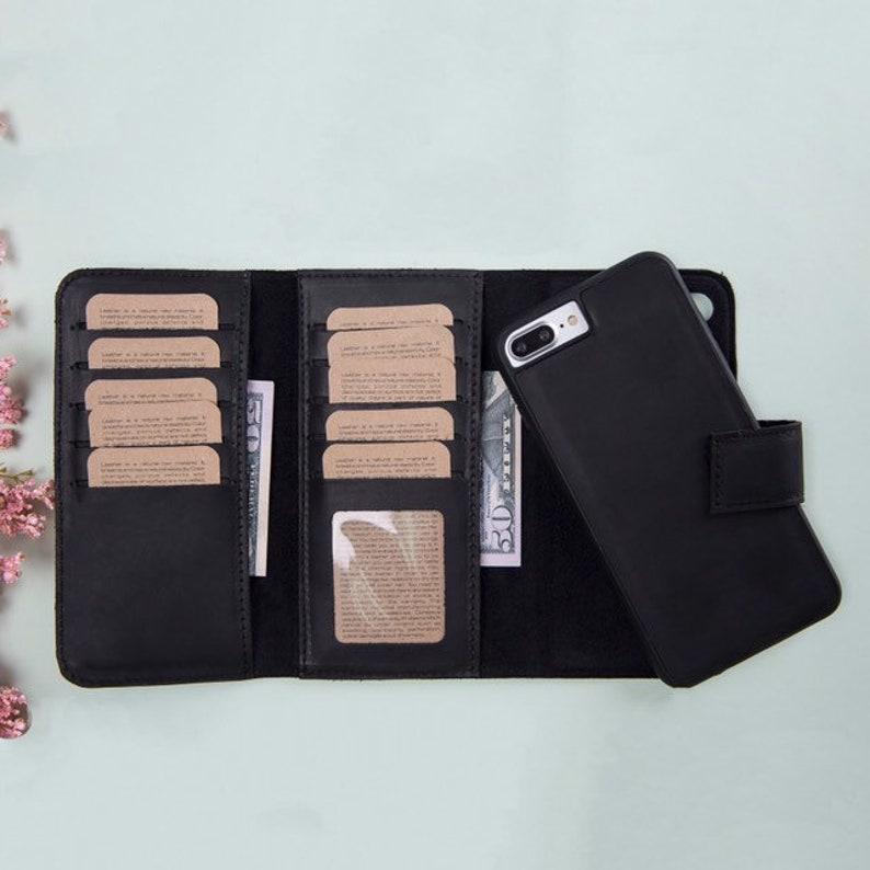 half off 6f1ff a3627 iPhone 8 Plus Leather Case, Leather iPhone 8 Plus Case, iPhone 8 Plus  Wallet, iPhone 8 Plus Wallet Case, Mens Wallet, Mens Leather Wallet