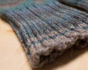 Seafarer Hand Knit Washable Wool Men's Socks