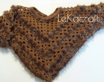 Knitted Poncho for kids