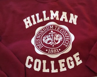 81999b803c9 Hillman College A Different World 90 s Sitcom Sweatshirt