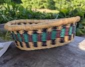 Bolga Basket Mini Oval Tray-Fair Trade
