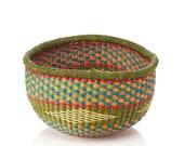 Round Tembe Basket-Fair Trade