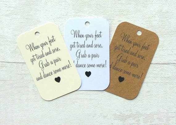 3206e77c137ca Wedding Favor Tags Wedding Favour Tags Flip Flop Tags
