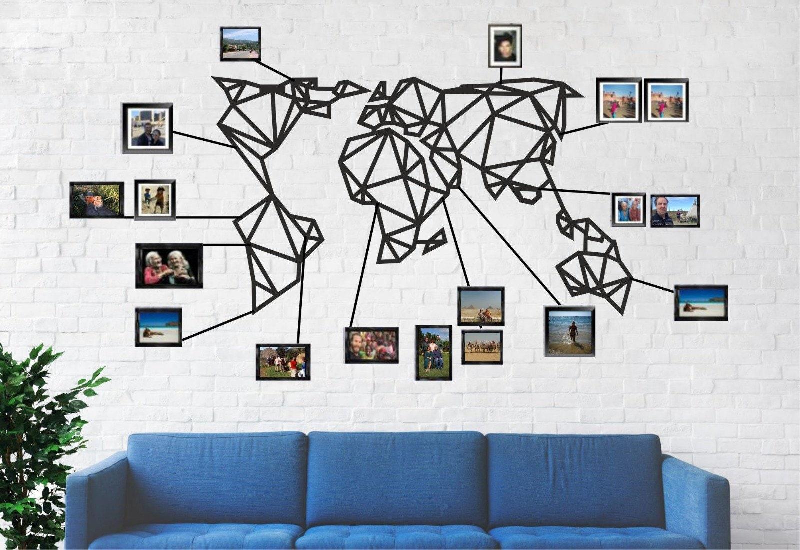 Metal Wall Clock Birds Metal Wall Art 3D Wall Silhouette Metal Wall Art Decor