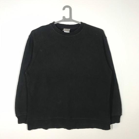 KK2010110 90s Clothing white 90s sweater Vintage 90s plain Sweatshirt Size M