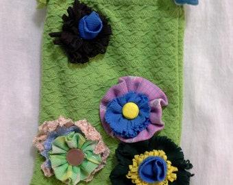 OOAK Double Knit Summer Shoulder Bag Handmade