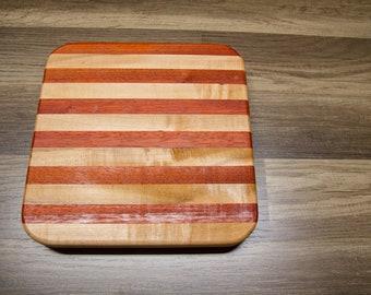 Padauk & Maple Cutting Board