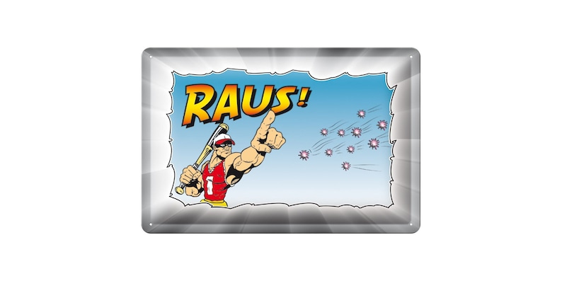Sheet metal shield Corona RAUS 20 x 30 cm metal shield image 0