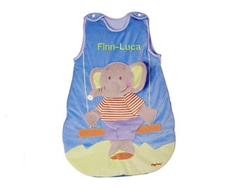 Last item baby sleeping bag elephant 90 cm romper bag